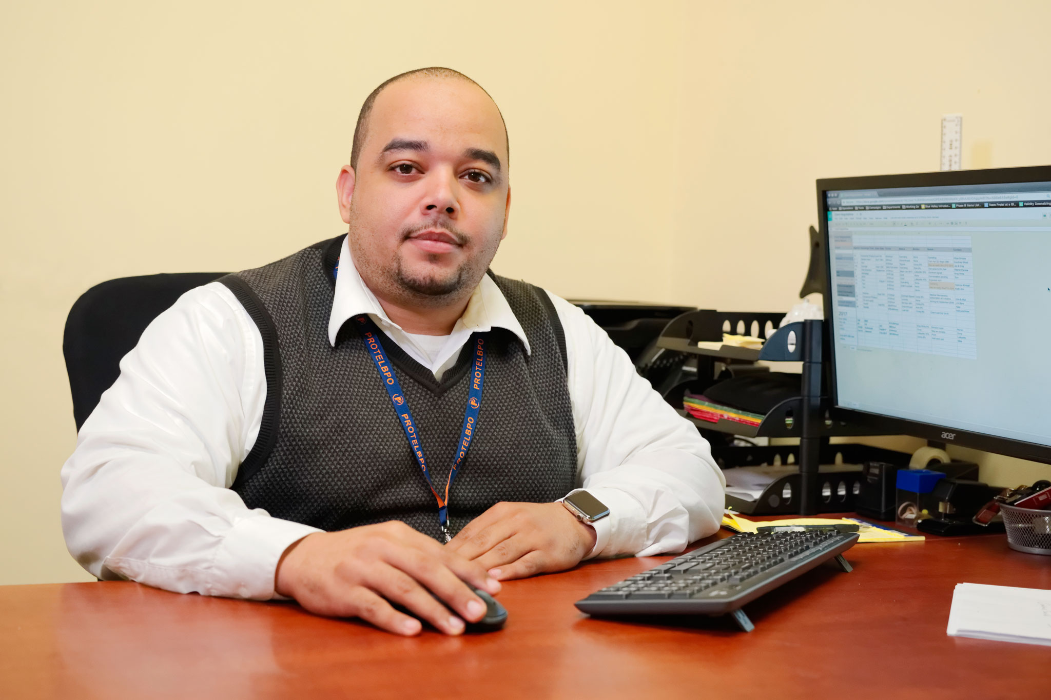 Protel BPO's Operations Director Shamir Villanueva ensures Protel BPO delivers a stellar experience to each client's customers.